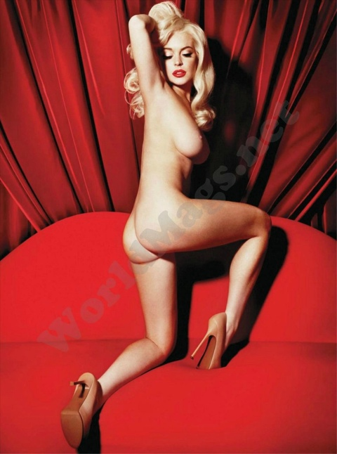 lindsey lohans nude magazine spread