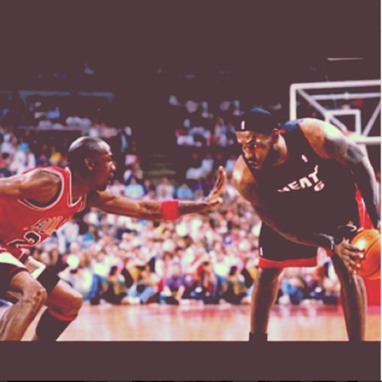 Lebron vs. MJ