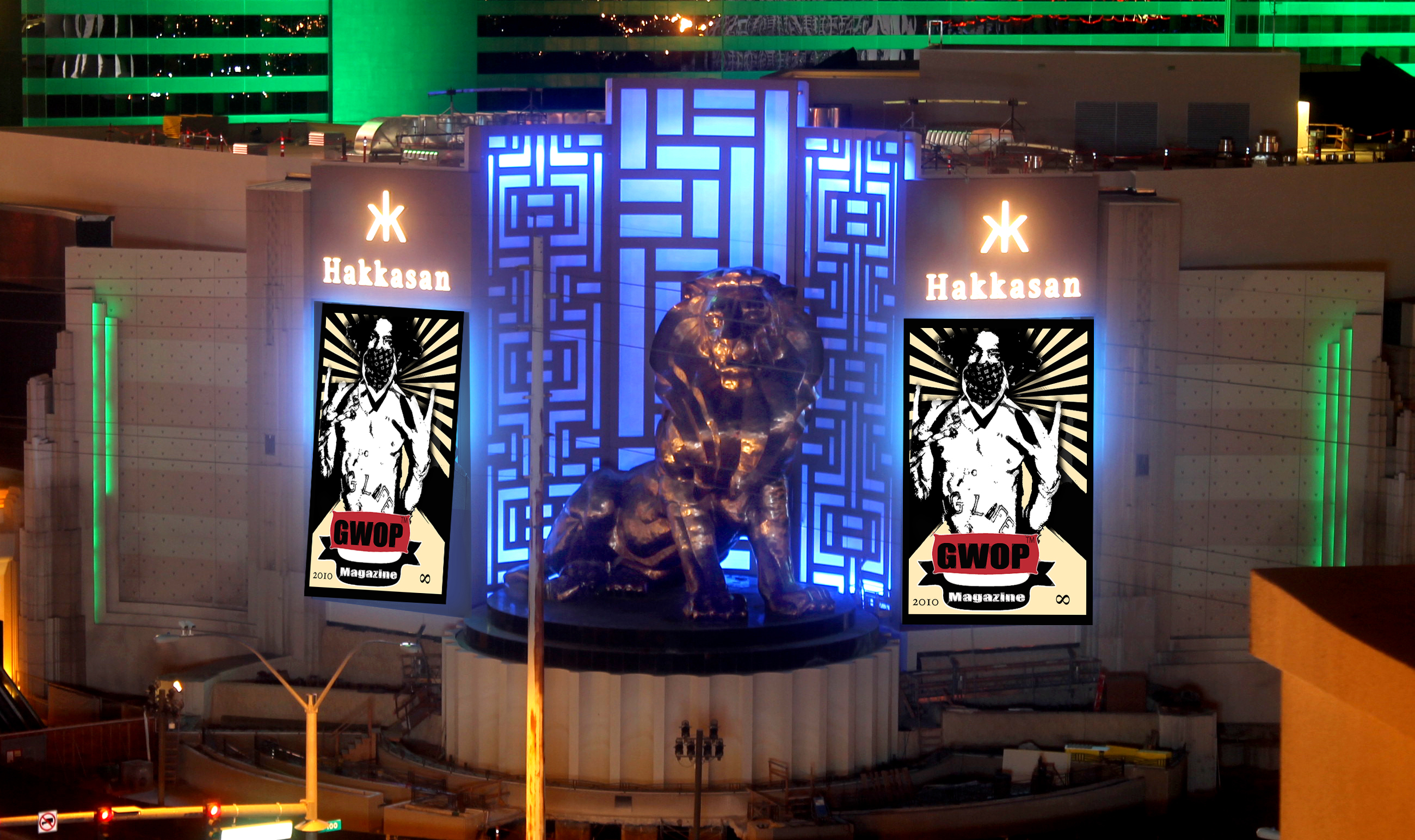 Hakkasan Las Vegas_Exterior of MGM Grand_1