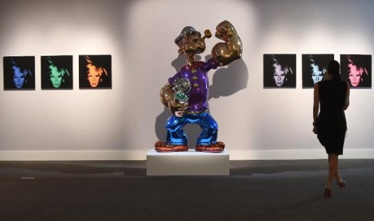 Popeye by Jeff Koon