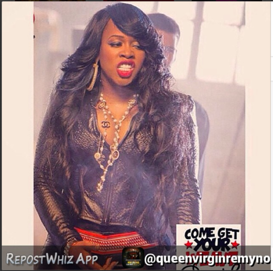 Remy Ma x Queen Virgin Remy