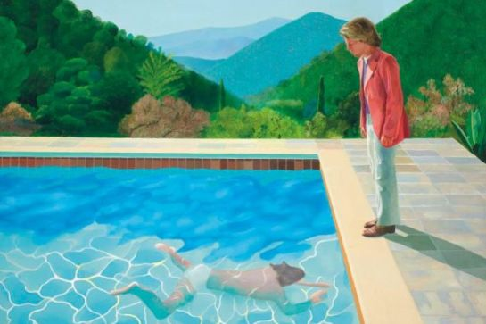 "David Hockney ""Portrait of an Artist"""